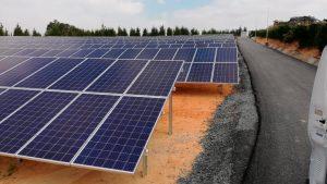 Instalación en empresa de Bombeo Solar en Adra Almería