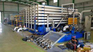 Subvención eficiencia energética en empresa Desaladora