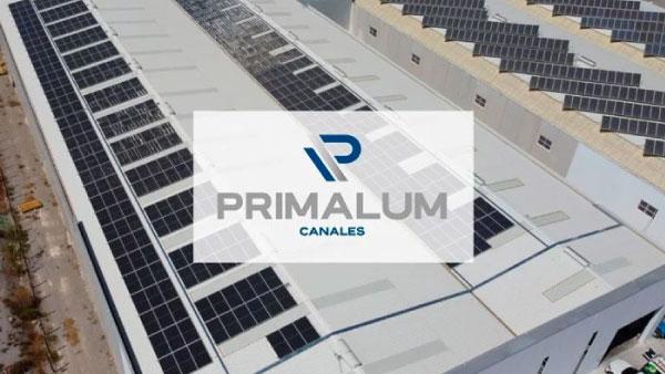 Instalación solar fotovoltaica en empresa de metales (aluminio)